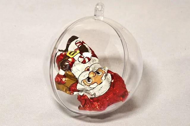 DIY - Spiel für Weihnachten -Schokoladenpapier
