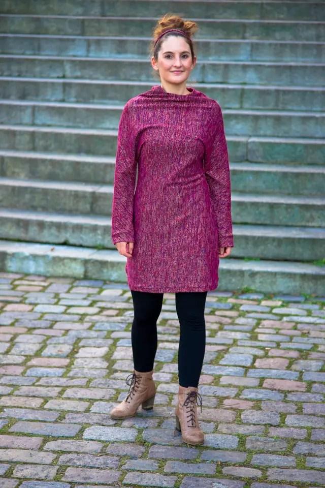 Twister Kleid aus einem Stück aus der Handmade Kultur