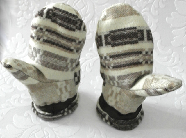 Handschuhe nähen nach einfachem Schnittmuster