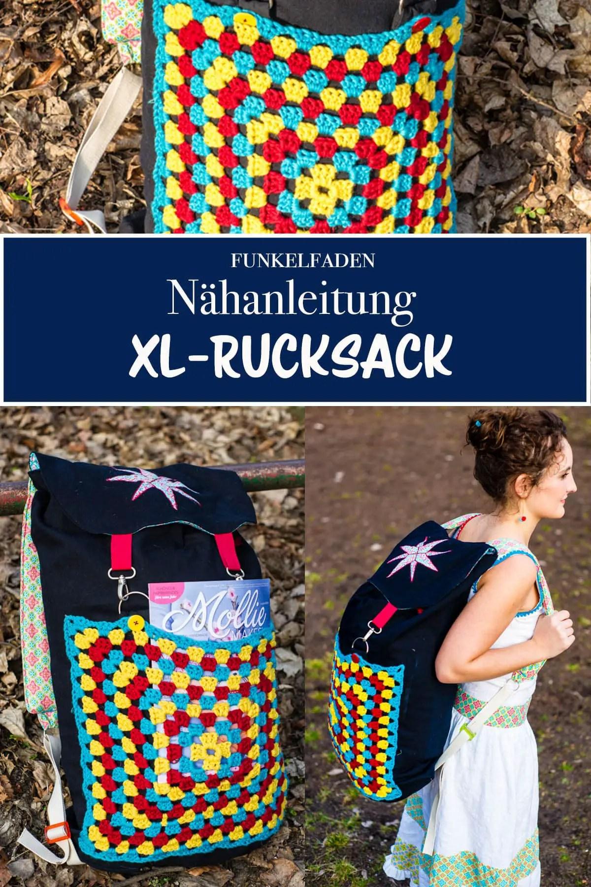 Kostenlose Nähanleitung für einen XL-Rucksack