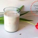 Schnell und lecker – Grapefruit-Joghurt-Drink
