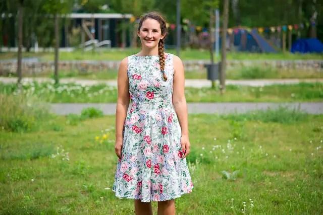 Sommerkleid mit Tulpenrock Schnittmuster Candy