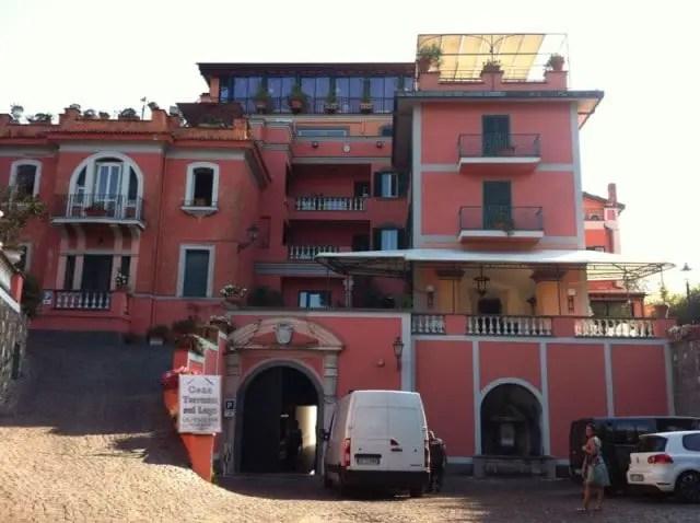 Villa Vechio in Castel Gandolfo