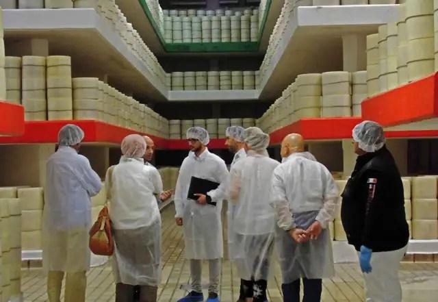 Peccorinofabrik Brunelli in Rom Italien