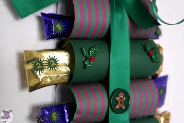 basteln mit toilettenpapierrollen diy adventskalender aus klopapierrollen ostern