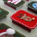 DIY – Weihnachtliche Streichholzschachteln