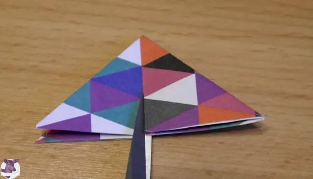 Anleitung - Sterne aus Papier basteln
