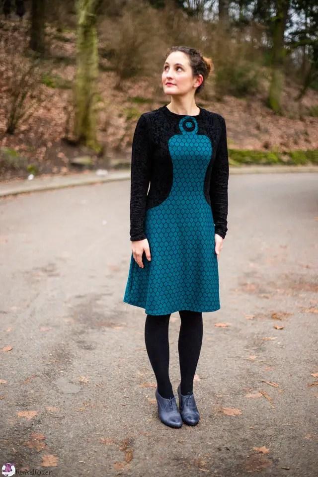 Schnittdesign - Selbst genähtes Vintagekleid