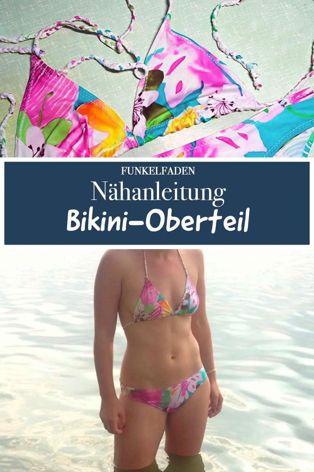 Nähanleitung Bikini-Oberteil