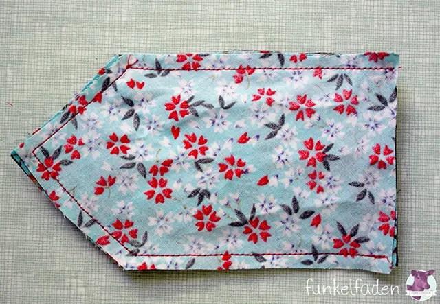DIY - Anhänger für Reisetasche nähen