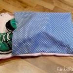 DIY  – Nähanleitung Schuhbeutel + Giveaway