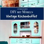 Diy Vintage Kuchenbuffet Aus Einen Alten Schrank Wird Ein Unikat