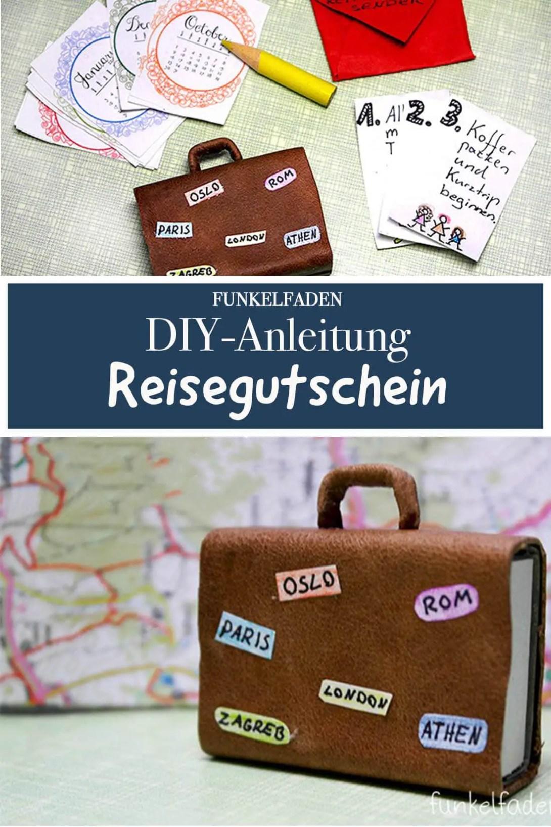 diy anleitung reisegutschein basten mit koffer anleitungen do it yourself bastelidee. Black Bedroom Furniture Sets. Home Design Ideas