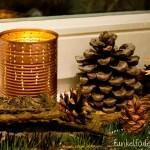 Upcycling – Lichter aus Blechdosen