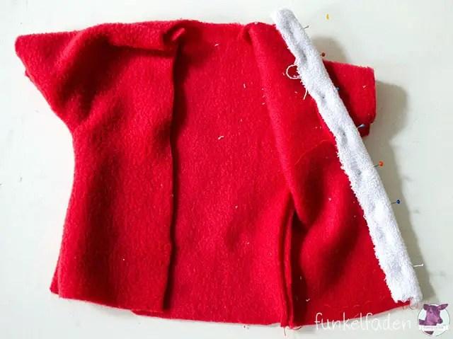 Kostenfreies Schnittmuster Weihnachtsmannmantel