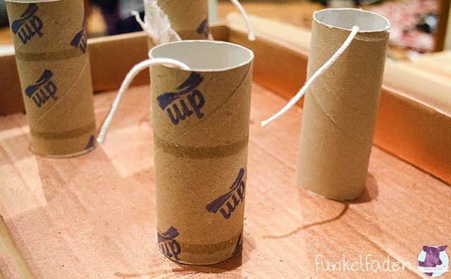 Upcycling - Kerzen aus Klorollen gießen