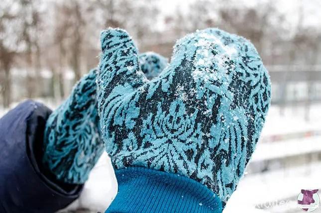 Handschuhe nähen - Freebook