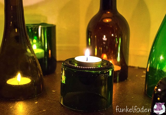 Upcycling mit Weinflaschen - Ideen