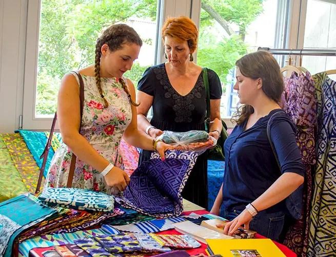 Auf der Textile Art Berlin