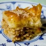 Rezept – Baklava mit Wallnüssen