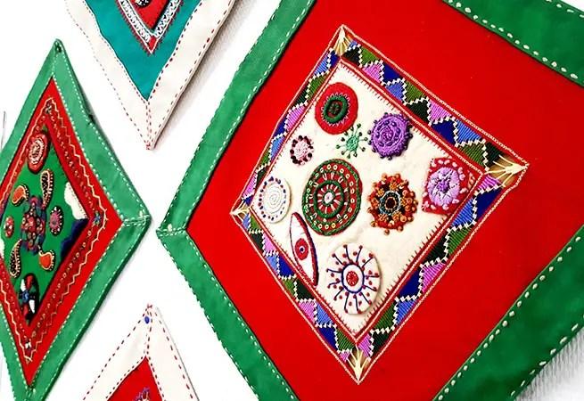 Türkische Stickereien aus Muglia