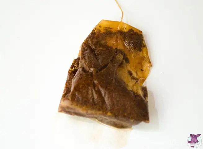 Antiklook - Papier mit Tee einfärben