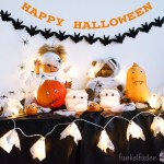 Halloween DIYs – Fledermausgirlande