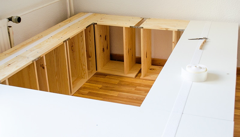 Kinderbett baumhaus selber bauen  Baumhaus Bett Selber Bauen. Bett Selber Bauen Kreativ U With ...