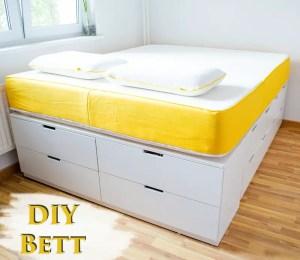 DIY IKEA Hack - Bett selber bauen