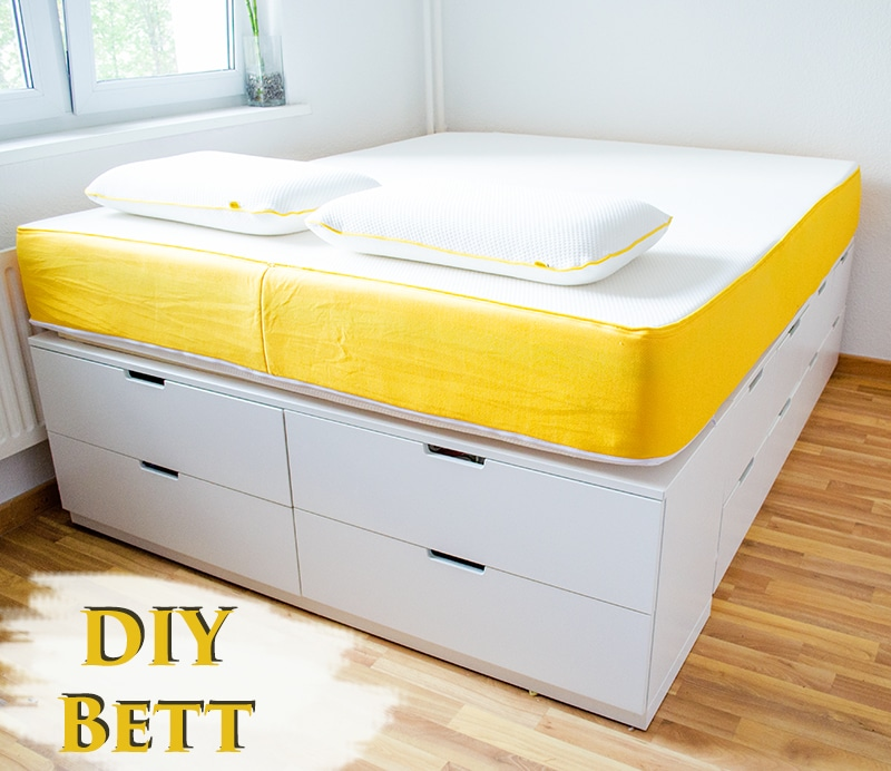 diy ikea hack plattform bett selber bauen aus ikea kommoden werbung anleitungen do it. Black Bedroom Furniture Sets. Home Design Ideas