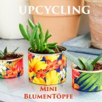 Upcycling – Mini-Blumentöpfe