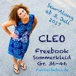 Sew-Along – Sommerkleid Cleo Gr. 36-46 als Freebook