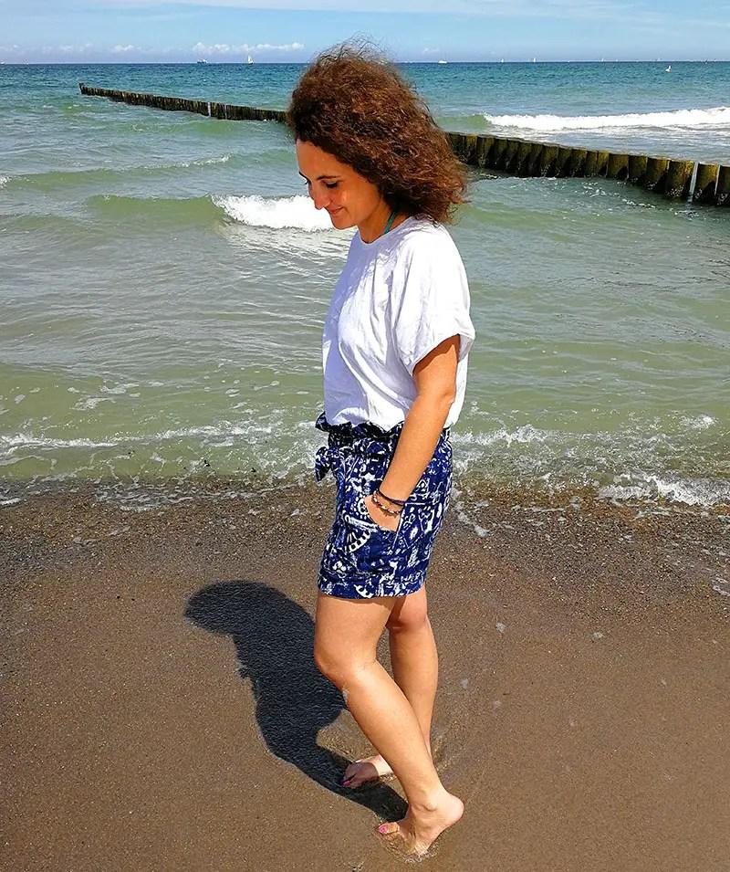Sommershorts und Shirt nähen