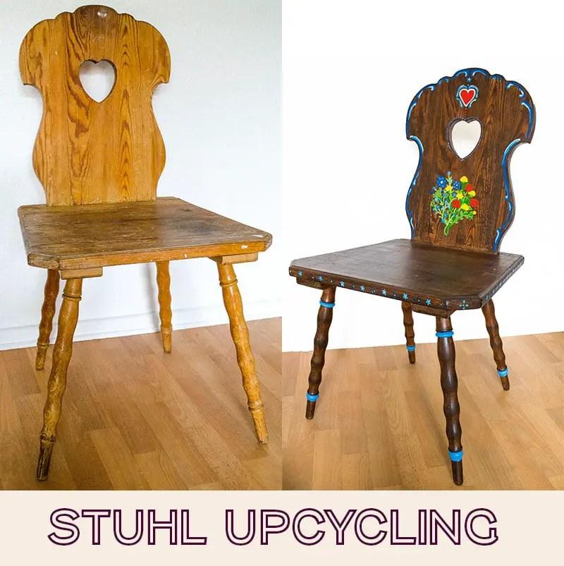 Stuhl Upcycling