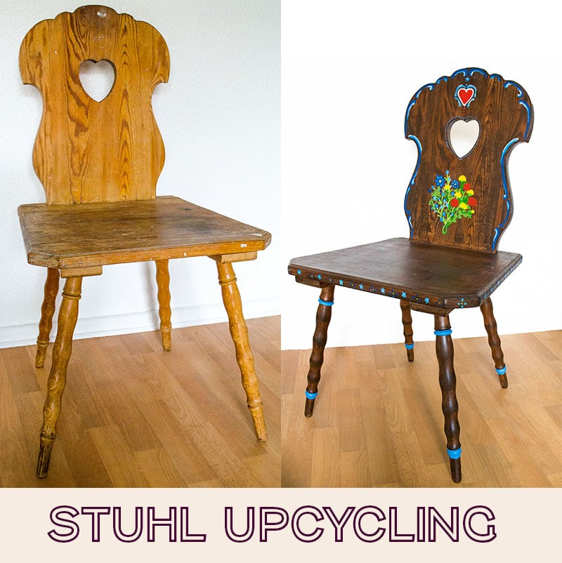 Stuhl Upcycling