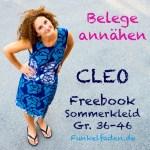 Sew-Along Kleid Cleo – Belege annähen