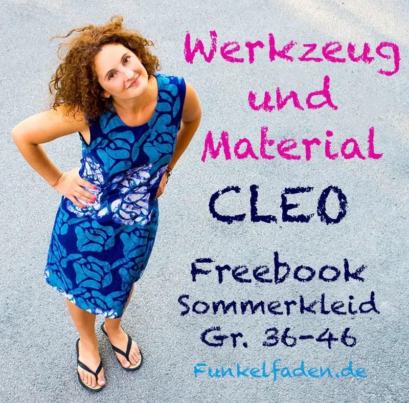 Freebook Sommerkleid Ale für Damen