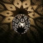 Upycling – Orientalische Lampe aus einer Laterne
