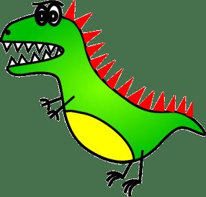 T-Rex - Dinosaur Jokes for Kids
