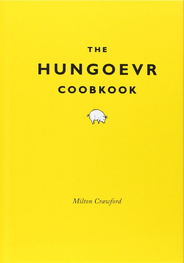 gifts for drinkers - the hungover cookbook