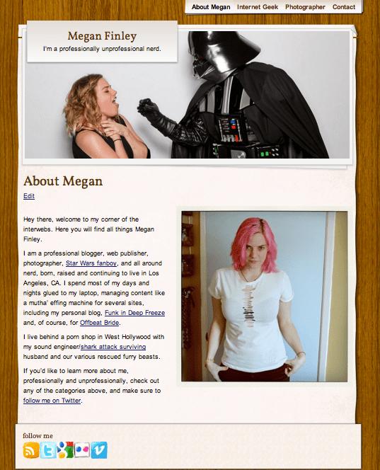 The brand new MeggyFin.com!