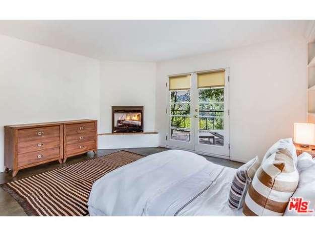 bedroom fireplace!