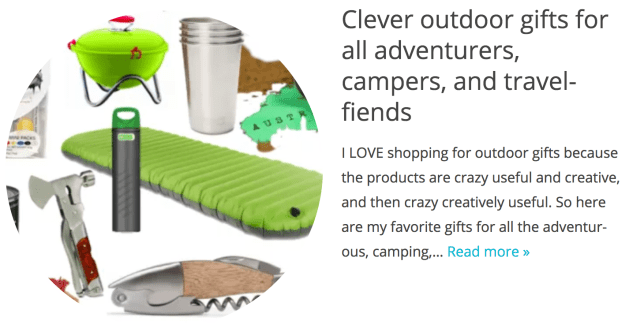gifts for outdoorsy types - gift swap ideas from funk in deep freeze