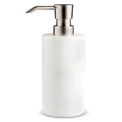 Marble soap dispenser from Target.