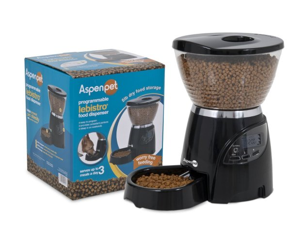 Aspen Le Bistro Portion-Control Automatic Pet Feeder