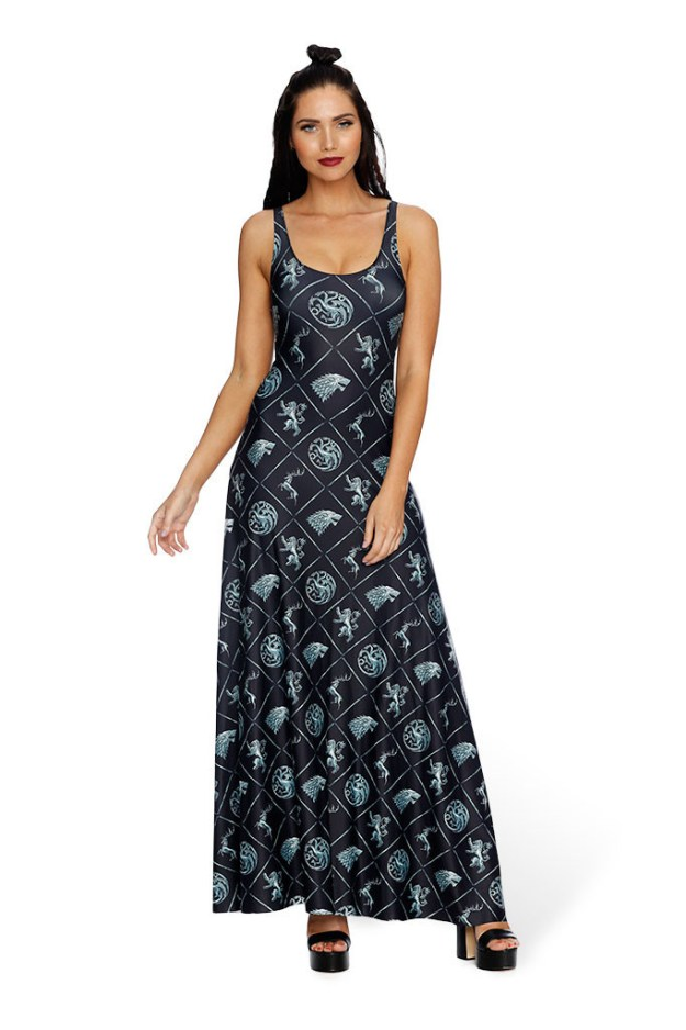 The Win or Die maxi dress
