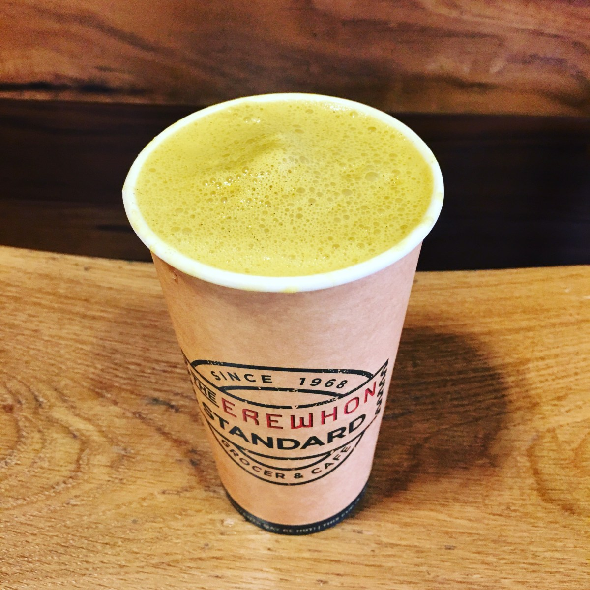 "The Golden Latte: The most ""LA"" cure for a cold"
