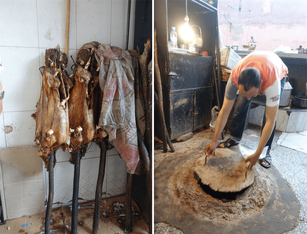 lamb machoui - Marrakech food tour