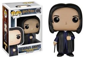 Figura Funko Pop! de Severus Snape para la Lista de Harry Potter