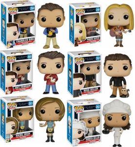 Muñecos Funko Pop! de la serie de televisión Friends